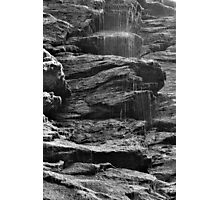 Rock Shower Photographic Print