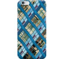 Wavy Reflections on a Building at Harbourfront iPhone Case/Skin
