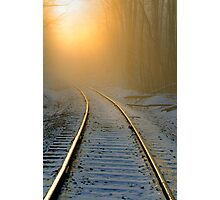 TRACKS TO NOWHERE  Photographic Print