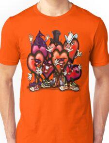 Hearts Party Unisex T-Shirt
