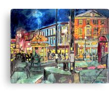 Harvard Square Canvas Print