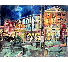 Harvard Square Photographic Print