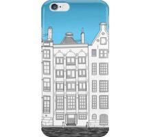 Dancing houses, Amsterdam iPhone Case/Skin