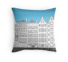 Dancing houses, Amsterdam Throw Pillow