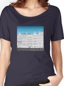 Dancing houses, Amsterdam Women's Relaxed Fit T-Shirt