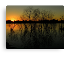 Farewell To The Day ~ Part Seven Canvas Print