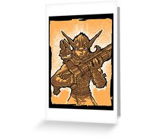 Daxter and Jak Greeting Card
