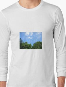 Trees and sky  Long Sleeve T-Shirt
