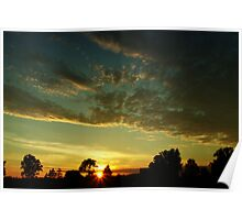 Sunrise scenery Poster