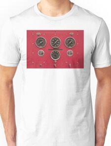 Fire Truck Gauges Unisex T-Shirt