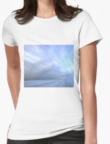 Desolate Road Womens Fitted T-Shirt
