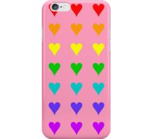 Love Is All Around IV ... and it is pink! iPhone Case/Skin
