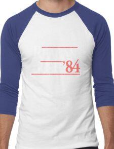 Vintage Reagan Bush 1984 T-Shirt Men's Baseball ¾ T-Shirt