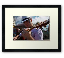 Talented Timing Framed Print