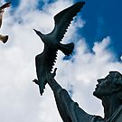 Bird...Statue by martinilogic