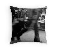 Rue Daguerre (3) - Paris 14ème - Throw Pillow