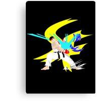 Super Smash Bros Ryu Canvas Print