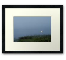 Spirtual moment on the water Framed Print