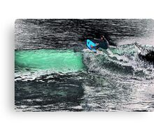 Boogie Boardin' Canvas Print