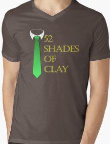 52 Shades of Clay Mens V-Neck T-Shirt