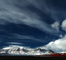 Red Rock Snow, Panoramic No. 5 by Benjamin Padgett
