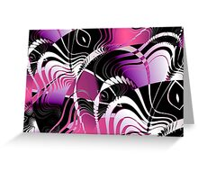 Abstract Lies Greeting Card