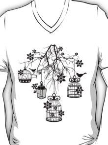 Bird Cage Chandelier T-Shirt