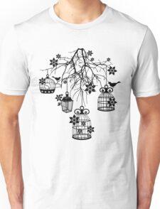 Bird Cage Chandelier Unisex T-Shirt