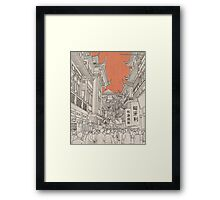 In China II. Framed Print