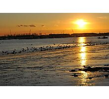 Sunset - River Crouch Photographic Print