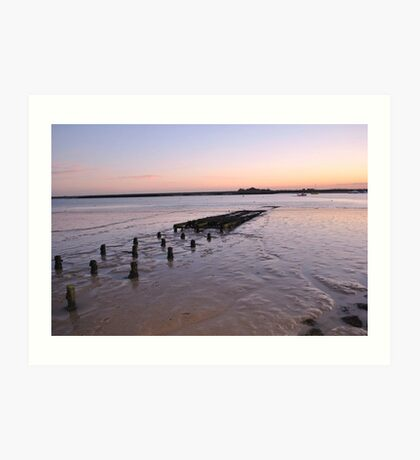 Sunset over River Crouch Art Print