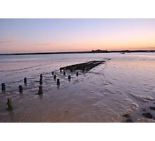 Sunset over River Crouch Photographic Print
