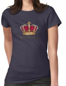 Queen Connasse Womens Fitted T-Shirt