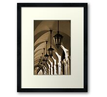 San Marco Arcade Framed Print