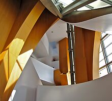 Walt Disney Concert Hall Entrance Foyer by seanh