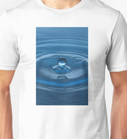 Blue Water Drop Unisex T-Shirt
