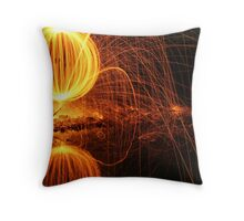 Reflected Orb Throw Pillow