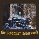 The Adventure Never Ends by Kathy Weaver