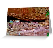 Canyon de Chelly White House Greeting Card