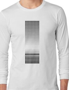 Horizon - Black & White Long Sleeve T-Shirt