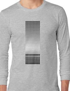 Horizon - Black & White Long Sleeve T-Shirt