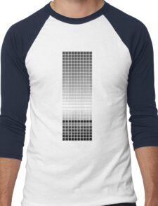 Horizon - Black & White Men's Baseball ¾ T-Shirt