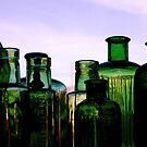 Green Bottles by CezB