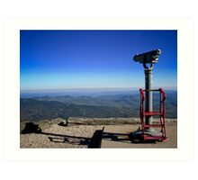 View From the Top- Mount Washington, NH Art Print