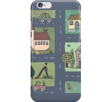 An Even Quieter Afternoon in Town iPhone Case/Skin