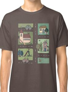 An Even Quieter Afternoon in Town Classic T-Shirt