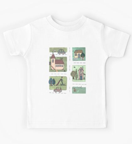 An Even Quieter Afternoon in Town Kids Tee