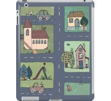 An Even Quieter Afternoon in Town iPad Case/Skin