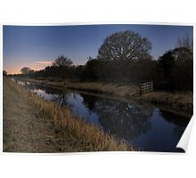 Shapwick Heath by Moonlight Poster