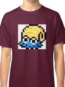 Pokemon 8-Bit Pixel Omanyte 138 Classic T-Shirt